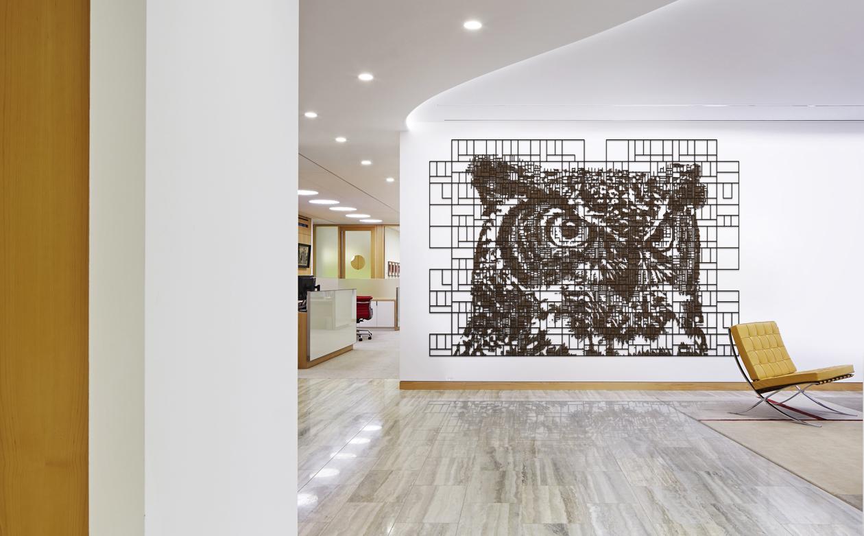 Angelo, Gordon, Mayfair London Office Designed by Stephen Yablon
